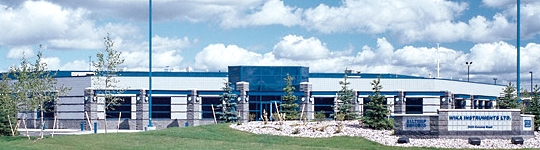 Headquarters of WIKA Canada in Edmonton, Alberta